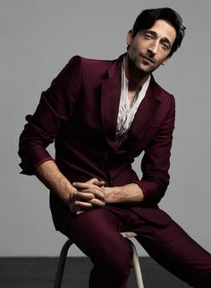 "Adrien Brody is so far from being my ""'typical"" type guy, but he is so sexy I hardly notice. The eyes, his voice, the talent. This is a smooth dude."