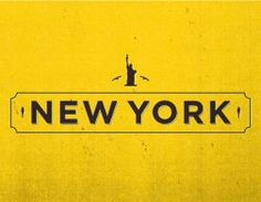 Swedish designer Albin Holmqvist created wonderful typographic logos (logotypes) for 40 cities. The project was commissioned by EF, an international Typography Design, Logo Design, Lettering, City Logo, I Love Ny, Mellow Yellow, Color Yellow, Big Yellow, Grafik Design