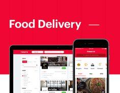 다음 @Behance 프로젝트 확인: \u201cFood Delivery\u201d https://www.behance.net/gallery/51889051/Food-Delivery