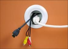 Wiremold - Flat-Panel TV Cord and Cable Power Kit - CMK70 - Best Buy
