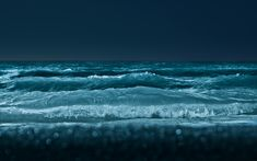 Stunning Examples Of Waves Photography Ocean Wallpaper, Images Wallpaper, Wallpaper Downloads, Desktop Wallpapers, Waves Photography, Time Lapse Photography, Video Vintage, Mickey Mouse, Night Sea