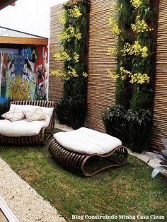 Construindo Minha Casa Clean: 22 Jardins Verticais Maravilhosos! Veja Dicas e Ideias!