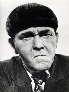 Moe Howard haircut