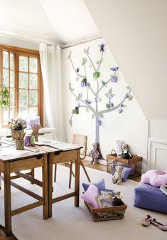 #habitaciones de estudio #niños 2 Habitaciones infantiles ideales para estudiar