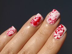 19 Ways to Dress Up Your Nails for Halloween via Brit + Co
