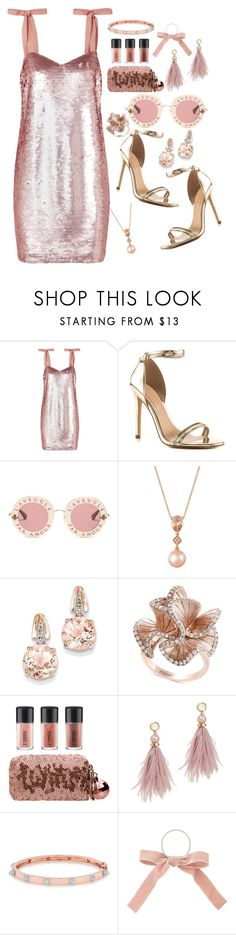 """""""Pink rose"""" by kotovasveta ❤ liked on Polyvore featuring J.Crew, ALDO, Gucci, LE VIAN, BillyTheTree, Effy Jewelry, MAC Cosmetics, Lizzie Fortunato and Anne Sisteron"""