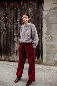 Ravelry: Kelowna Sweater by Tara-Lynn Morrison Loopy Mango, Tara Lynn, Ravelry, Parachute Pants, Chic, Pattern, Sweaters, Style, Fashion