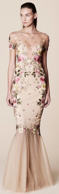 Marchesa Notte Spring 2017 Ready-To-Wear