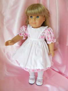 18 Inch  Doll Clothing Kirstin Pink Floral by DixiesDollEmporium, $30.00