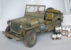 Dragon 1/6 Jeep.