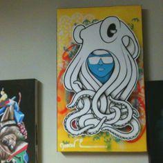 Modern, pop art from a Kansas artist