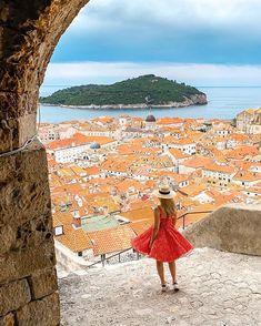 Travel Trip, Old City, Dubrovnik, Croatia, Beach Mat, To Go, Outdoor Blanket, World, Flowers