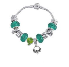 Claddagh Bracelet St. Patrick's Day Bracelet Irish by NSCJewels