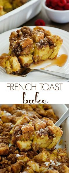 I've made the same Christmas morning breakfast for the past 10 years. Mom's Breakfast Bake and our favorite Cinnamon Rolls. My family loves it and I do too, but I thought it was time to change things up this year!  That being said, let me introduce to you FRENCH TOAST BAKE aka. the most wonderful …