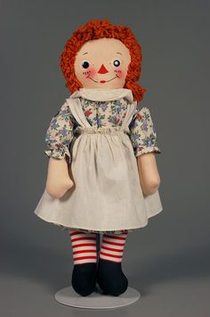 77.3248: Raggedy Ann | doll | Dolls from the Fifties and Sixties | Dolls | National Museum of Play Online Collections | The Strong