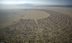 World's wildest festival underway as thousands gather in the searing Nevada heat for Burning Man extravaganza