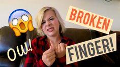 I BROKE MY FINGER! - Candid Cassie