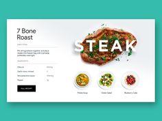 Steak from earlier project  Art direction @Nick Kumbari
