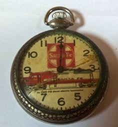 Santa Fe railway system Pocket Watch.