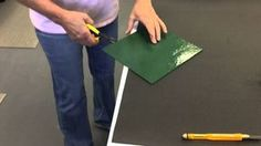 How to Cut a Glass Circle!