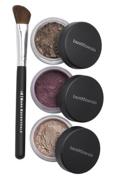 Bare Minerals smoky eye trio. Great stocking stuffer idea.