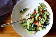 Cucumber raita salad