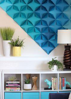 3D Paper Wall Art