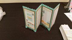 3d shoebox make a wish card