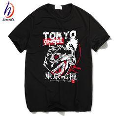 Tokyo ghoul anime printed t-shirt männer japanischen manga ken kaneki t-shirt 2017 mode harajuku hip hop swag günstige clothing, hct021
