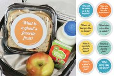 Get Your Mom-Of-The-Year Award Without Spending Hours Styling Your Kiddo's Lunch By Simply Adding Lunch Box Joke Stickers! your child will enjoy sharing their fun joke with their friends at the lunch table. Get a set of 8 stickers plus FREE SHIPPING during our Back to School Event at pickyourplum.com!