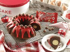 Have a go at baking a mouth-watering Malty Bundt cake for you and your friends to enjoy! We will donate £5 to Comic Relief for every use of the #bakeamillion with a picture of your creations! Click the image for the recipe! @rednoseday #rednoseday