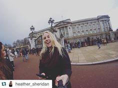 #Repost @heather_sheridan Liz invited me over for some tea  #London2k16 #ispyapi #studyabroad