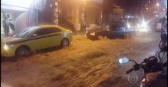 Chuva muito forte faz Rio entrar em estágio de crise