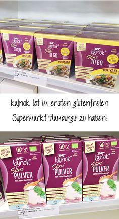 Wusstet ihr, dass sich unsere Produkte perfekt für eine glutenfreie Ernährung eignen? kajnok gibt es daher jetzt auch im ersten glutenfreien Supermarkt in Hamburg. Unsere schlanken Produkte findet ihr bei Glut'n'free am Spritzenplatz 10 in Hamburg-Ottensen. Nichts wie hin! To Go, Vegan, Bread, Food, Gluten Free Foods, Slim, Hamburg, Weight Loss, Germany