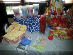 Circus/carnival treats/food