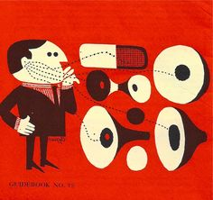 """simonsayssigns: """" A No-Nonsense Guide to Stereo 1961 source: Simon Says Signs Collection """" Music Illustration, Graphic Design Illustration, Graphic Art, Vintage Posters, Vintage Art, Character Concept, Character Design, Illustrations Vintage, Collages"""