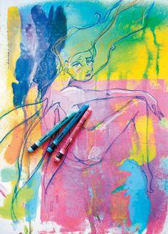 Journaling In Color: Artist Profile Jane Davenport