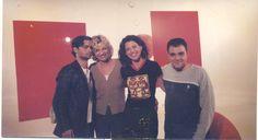 En el plató con Sergio Villaneuva, Gretel Stuyck y Alfonso Ferrandis