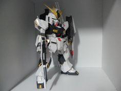 [ms gundam] RX-93 ν gundam v2 double fin funnel type SD