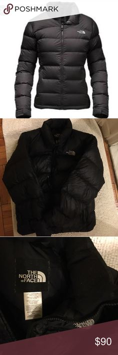 The North face black women's jacket medium 700 The North face black women's jacket medium 700 down super warm gently used The North Face Jackets & Coats Puffers