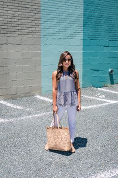 Casual Summer Style and my favorite comfortable shoes. Brooke of Pumps & Push-Ups. Autumn Summer, Spring Summer Fashion, Spring Outfits, Fall, Spring Clothes, Summer Clothing, Winter Fashion, Fashion Today, 90s Fashion