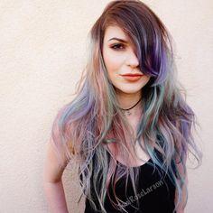 "Toni Rose Larson on Instagram: ""PastelUnicorn @kenraprofessional #KenraColor #MetallicObsesson #Kenra #modernsalon #behindthechair #btcpics #beautylaunchpad #bioionic #whocuts #hairbycontinuum #1minutehair #inspirehairstyles #hairandnailfashion #carlsbadsalon #sandiegosalon #orangecounty #lacounty #la #colordollzbytoni #colordollz #toniroselarson"""