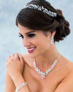 Bijou de tête (Headband) pour mariée