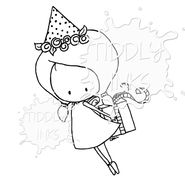 A Tiddly Inks must see are these cute and fun pixie stamps! Tiddly Inks offers tons of digi stamp collections, like the popular pixie and fairy stamps!