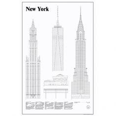 Studio Esinam's New York Elevations poster