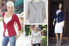 You Rock the Cardi - Button Up Solid Cardigan #cardigans pickyourplum.com
