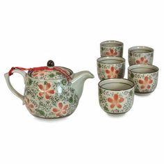 Tea Set - Plum Blossom