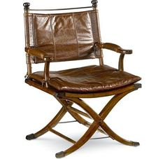 Safari Desk Chair...Ernest Hemingway collection at Thomasville