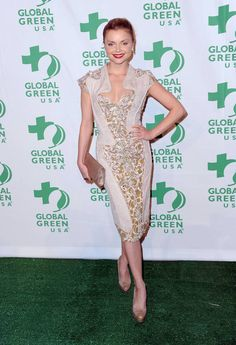 Actress Isabella Miko in BASIL SODA HC dress at the Global Green USA 9th Annual Pre Oscar Party 2012