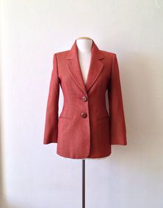 gianfranco ferre blazer / womens fitted jacket / by dinalouiseSF, $56.00